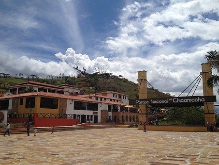 Cannon, Mountain, Santander, Chicamocha