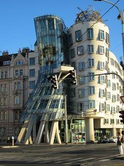 Dancing House, Czech, Prague, Modern Architecture