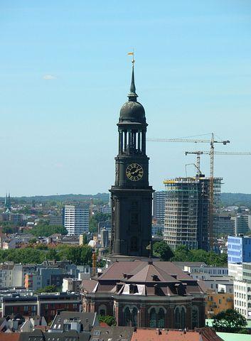 Hamburg, St Michaelis, St, Michaelis, Church, Dom