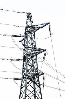 Cable, Construction, Distribution, Dusk, Electric