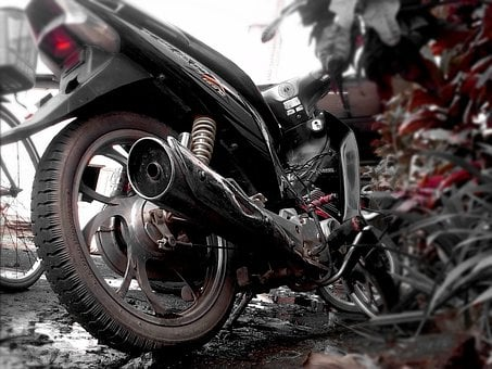 Motorcycle, Exhaust, Metal, Wheel, Motorbike, Motor