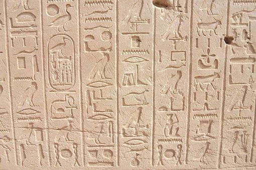 Hieroglyphics, Pharaohs, Egypt, Luxor, Karnak