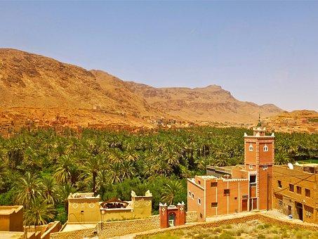 Morocco, Landscape, Africa, Marroc, Nature, City