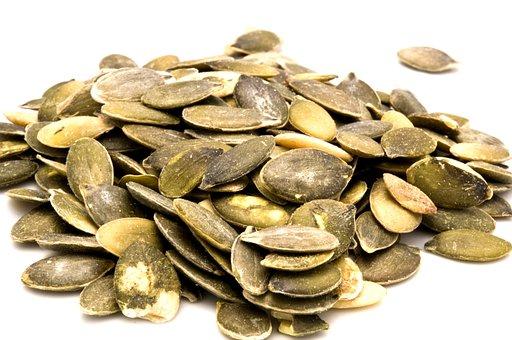 Pumpkin Seeds, Seeds, Food, Pumpkin, Dry, Pilled, Dried