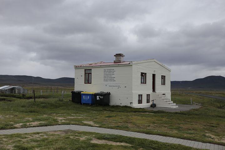 Wilderness, House, The Inscription, Sky, Iceland