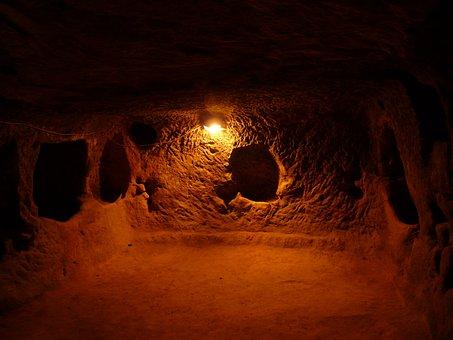 Underground City, Turkey, Underground, Space
