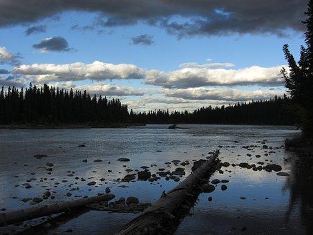 Canada, River, Water, Nature, Travel, Blue, Landscape