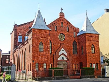 Methodist Church, Bydgoszcz, Religious, Building