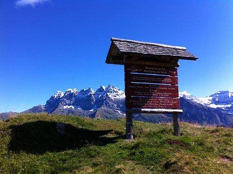 Mountain, Landscape, Switzerland, Mountains