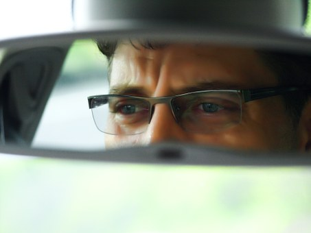 Eye, Mirror, Dude