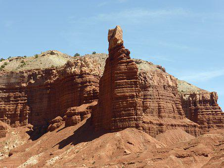 Nature, Capitol Reef, National Park, Usa, America