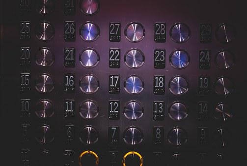 Elevator, Buttons, Numbers