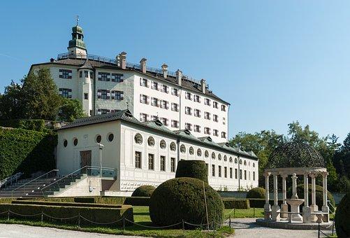 Ambras, Castle, Innsbruck, Austria, Old, Palace