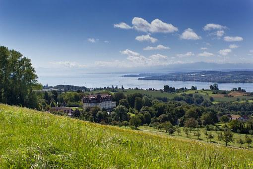 Lake Constance, Panorama, Outlook, überlingersee