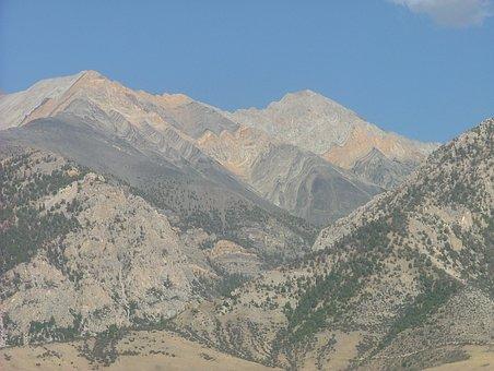 Borah, Idaho, Range, Mountain, Landscape, Peak