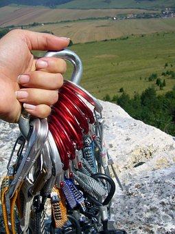 Climbing, Rock, Rope, Ropes, Cliff, Holidays, Summer