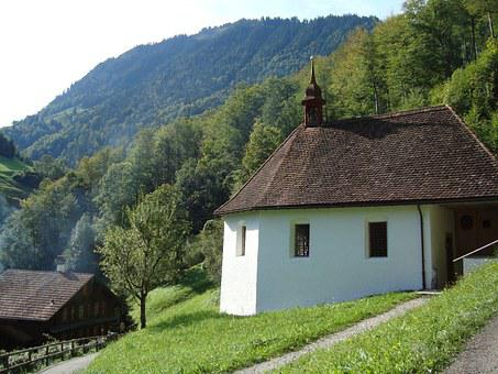 Chapel, Brother Klaus, Brother Klausen Chapel, Saxeln