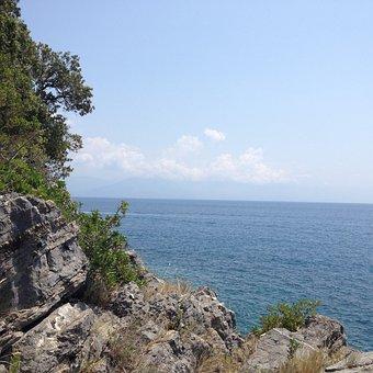 Cilento National Park, Italy, Dudes, Sea, Rocks
