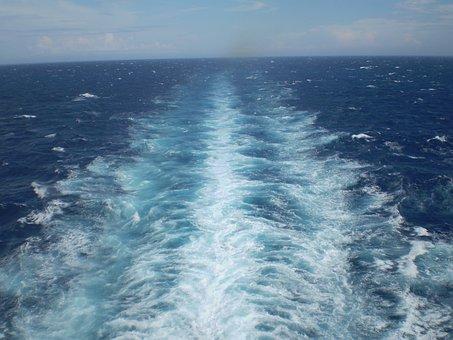 Ship Wake, Wake, Sea