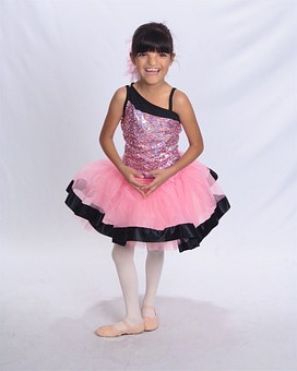 Dancer, Child, Happy, Girl, Young, Kid, Cheerful, Pink