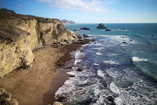 Tomales Bay, Coast, Beach, Point Reyes, Sea, Ocean