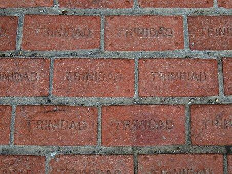 Trinidad, Colorado, Unsa, Brick, Ground, Red