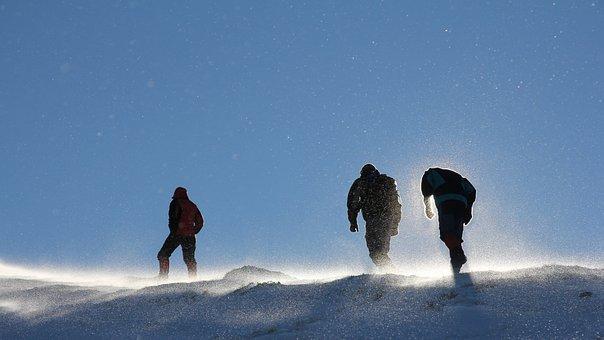 Equip, Winter, Mountain, Snow, Cold, Landscape, Nature