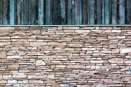 Wall, Wood, Stone, Facade, Stone Wall, Building