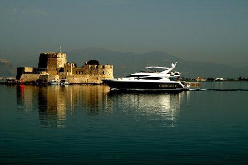 Vessel, Nafplion, Holidays, Greece
