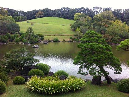 Banpaku Park, Suita, Japan, Japanese Garden