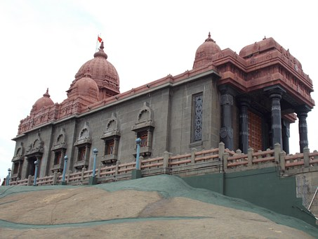 Vivekananda Rock Memorial, Monument, Kanyakumari