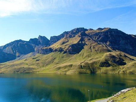 Mountain Summit, Melchsee-frutt, Tannensee, Bergsee