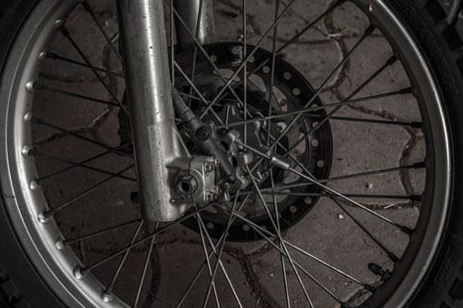 Wheel, Moto Bike, Mature, Moto Tires, About, Spokes