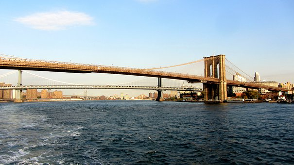 Brooklyn Bridge, Manhattan Bridge, New York City