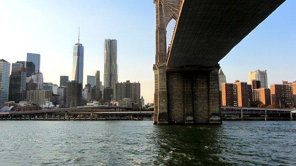 Brooklyn Bridge, New York City, Suspension Bridge