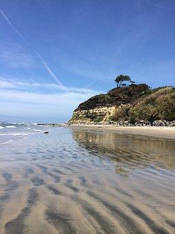 San Diego Beach, Beach, Ocean, California, Water, Sand