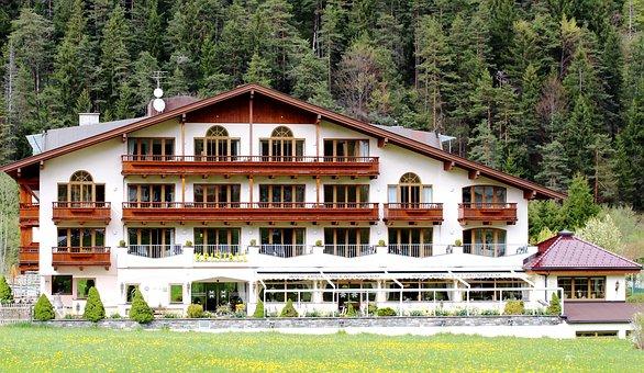 Pertisau, Tyrol, Hotel, Facade, Window, Architecture