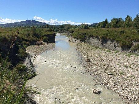 River, Marecchia, Canyon, Verucchio