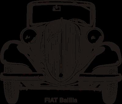 Fiat, Car, Old, Vintage, Oldtimer, Transportation