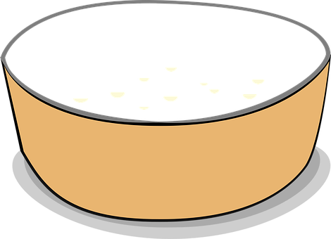 Feeding Dish, Feeding Bowl, Bowl, Empty, Cereal