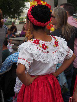 Folk Dancing, Mexico, Folk, Culture, Dance, Traditional
