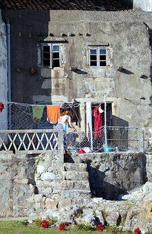 A Guarda, Galicia, Casa Vieja, Old House