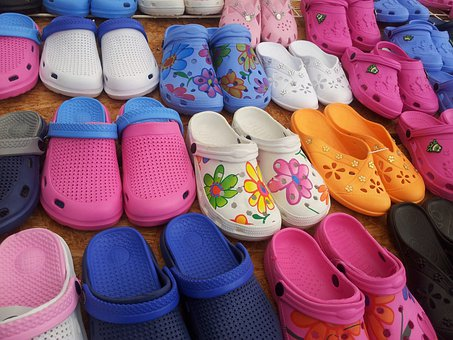Shoes, Rubber Shoes, Garden Shoes, Glogs, Colorful