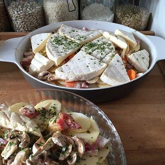 Cheese, Tartiflette, Kitchen
