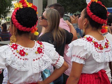 Folk Dancing, Mexico, Folk, Culture, Dance, Traditional
