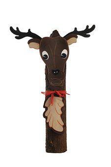Moose, Fig, Wood, Decoration, Funny, Animal