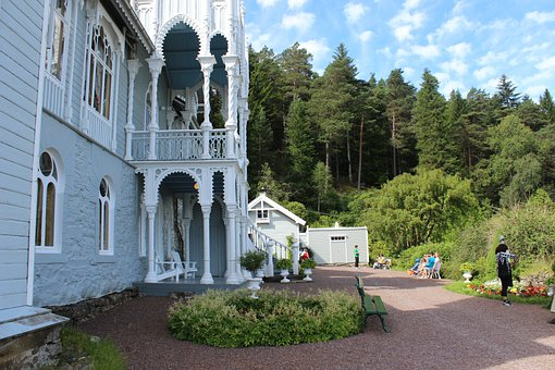Ole Bull, Mansion, Norway