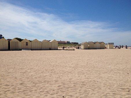 Ouistream, Beach, Sand, Summer, Blue, Sandy Beach