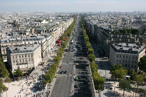 Champs Elysees, Champs Elysees Avenue, Paris
