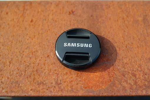 Lid, Photo Cover, Plastic, Samsung, Camera Cover, Black